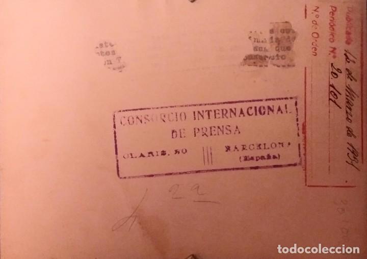 1931 Capgrossos. Cabezudos 18 x 13 Consorcio internacional de prensa Periódico 20.101