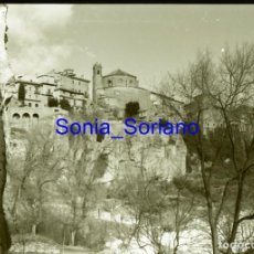Fotografía antigua: CUENCA - NEGATIVO EN CELULOIDE 35 MM. AÑO 1967. Lote 148200358