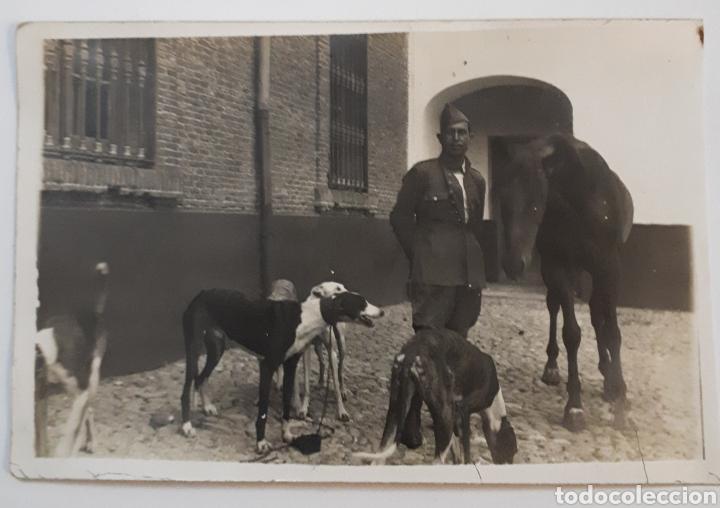 FOTO DE LEGIONARIO DE CABALLERIA. AÑOS 20S. (Fotografía Antigua - Fotomecánica)