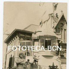 Fotografía antigua: FOTO ORIGINAL VALENCIA FALLA FALLAS LA LLOTGETA AÑOS 50. Lote 148784150