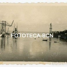 Fotografía antigua: FOTO ORIGINAL PORTO CRISTO PUERTO BARCO MALLORCA BALEARES AÑOS 40. Lote 148786202