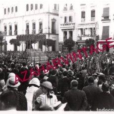 Fotografía antigua: SEMANA SANTA SEVILLA, AÑOS 30, LA VIRGEN DEL REFUGIO, SAN BERNARDO, 24X18 CMS,LEER DESCRIPCION. Lote 148915966