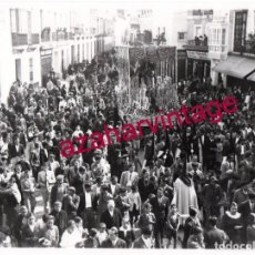 Fotografía antigua: SEMANA SANTA SEVILLA, AÑOS 30, LA ESPERANZA DE TRIANA, 24X18 CMS, LEER DESCRIPCION. Lote 148951118