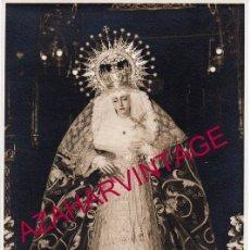 Fotografía antigua: SEMANA SANTA SEVILLA, ANTIGUA FOTOGRAFIA ESPERANZA DE LA TRINIDAD, HARETON,116X178MM. Lote 149571474