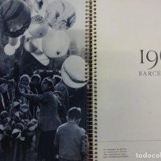 Fotografía antigua: BARCELONA 1961. EXCELENTE AGENDA CON FOTOS DE CATALA-ROCA, CENTELLAS....... Lote 149578022