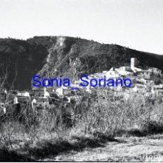 Fotografía antigua: DOS AGUAS, HOYA BUÑOL, VALENCIA. NEGATIVO EN CELULOIDE 35 MM. AÑOS 60. Lote 149606942