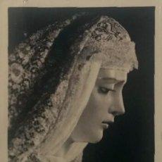 Fotografía antigua: SEVILLA, SEMANA SANTA. FOTOGRAFÍA DE NTRA. SRA. DE GRACIA Y ESPERANZA. AÑOS 60-70.. Lote 149623846