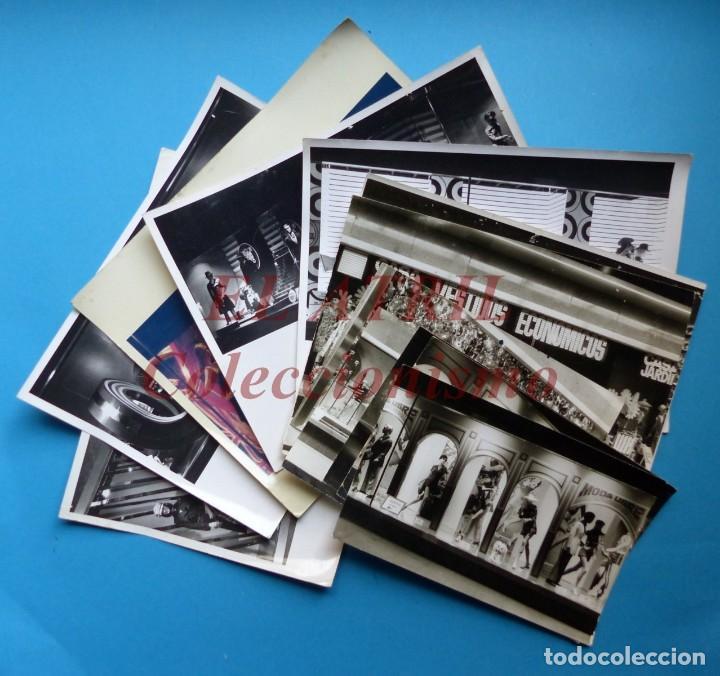 VALENCIA - 12 FOTOGRAFIAS DE LOS ESCAPARATES EL CORTE INGLES - AÑO 1971 - FINEZAS Y LOPEZ-VIVAS (Fotografía Antigua - Fotomecánica)