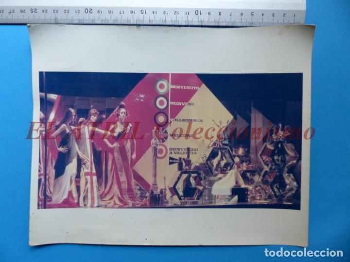 Fotografía antigua: VALENCIA - 12 FOTOGRAFIAS DE LOS ESCAPARATES EL CORTE INGLES - Año 1971 - FINEZAS Y LOPEZ-VIVAS - Foto 21 - 149849306