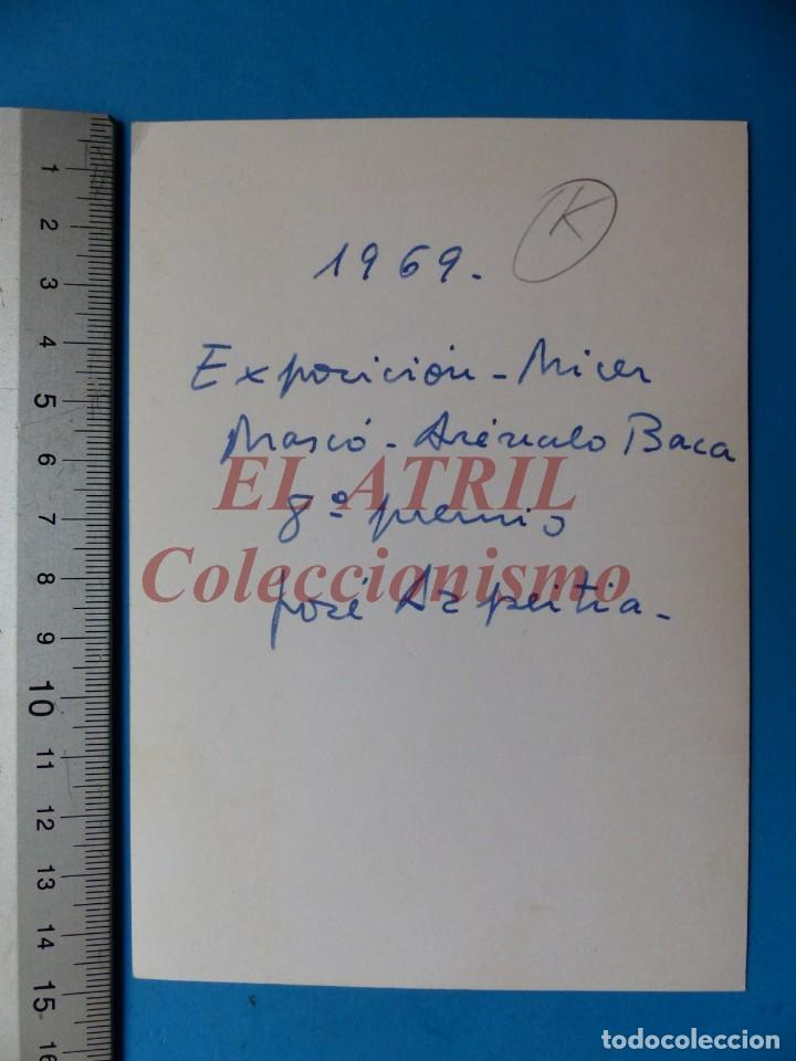 Fotografía antigua: VALENCIA - FALLAS, EXPOSICION MICER MASCO-AREVALO BACA - FOTOGRAFICA - AÑO 1969 - Foto 2 - 149947178