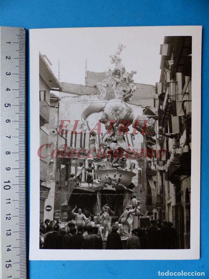 VALENCIA - FALLAS, NA JORDANA - FOTOGRAFICA - AÑO 1965 (Fotografía Antigua - Fotomecánica)