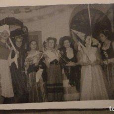 Fotografía antigua: ANTIGUA FOTOGRAFIA.REPRESENTACION TEATRAL? FOTO CUBERO ECIJA 1947. Lote 150489826