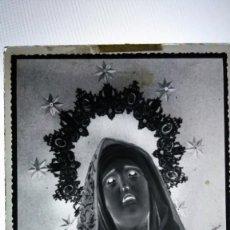 Fotografía antigua: DENIA ALICANTE DOLOROSA ANTIGUO CLICHÉ NEGATIVO EN CRISTAL. Lote 150496310