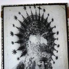 Fotografía antigua: SEVILLA ESPERANZA DE TRIANA ANTIGUO CLICHÉ NEGATIVO EN CRISTAL. Lote 150500302