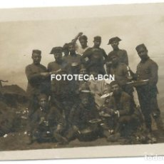 Fotografía antigua: FOTO ORIGINAL SOLDADOS INFANTERIA GUARDIA CIVIL NORTE DE AFRICA MARRUECOS AÑOS 20/30. Lote 150655154