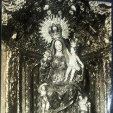 Fotografía antigua: SEVILLA. PALACIO DE SAN TELMO, VIRGEN DEL BUEN AIRE. AÑOS 50-60.. Lote 151121434