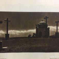 Fotografía antigua: EL CALVARIO SEGOVIA,1922,15X21,DE KURT HIELSCHER,DEL LIBRO. DAS UNBEKANNTE SPANIEN. Lote 151439372