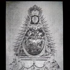 Fotografía antigua: LORA DEL RÍO SEVILLA ANTIGUO CLICHÉ DE NUESTRA SEÑORA DE SETEFILLA NEGATIVO EN CRISTAL. Lote 151498086
