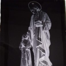 Fotografía antigua: ZARAGOZA ANTIGUO CLICHÉ DE SAN JOAQUÍN NEGATIVO EN CRISTAL. Lote 151500178