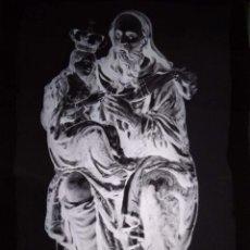Fotografía antigua: ZARAGOZA ANTIGUO CLICHÉ DE LA ANTIQUÍSIMA IMAGEN DE SAN JOAQUÍN NEGATIVO EN CRISTAL. Lote 151500370