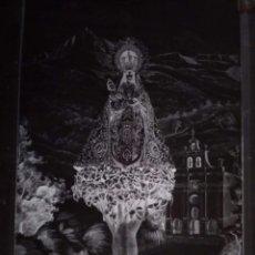 Fotografía antigua: ORDUÑA VIZCAYA ANTIGUO CLICHÉ DE NUESTRA SEÑORA DE ORDUÑA LA ANTIGUA NEGATIVO EN CRISTAL. Lote 151500574