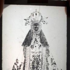 Fotografía antigua: ANTIGUO CLICHÉ DE NUESTRA SEÑORA DEL CASTAÑAR BEJAR SALAMANCA NEGATIVO NEGATIVO EN CRISTAL. Lote 151550902