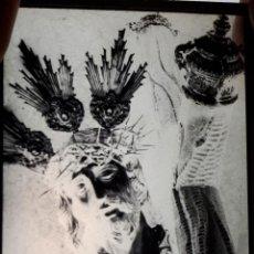 Fotografía antigua: ANTIGUO CLICHÉ DE NUESTRO PADRE JESÚS NAZARENO ECIJA SEVILLA NEGATIVO EN CRISTAL. Lote 151551706