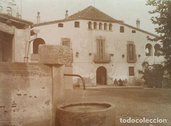 1912 ARXIU MAS LA COLÒNIA GÜELL: CAN SOLER DE LA TORRE ST. BOI SANT FELIU DEL LLOBREGAT 16,5 X 22,5 (Fotografía Antigua - Fotomecánica)