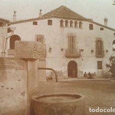 Fotografía antigua: 1912 ARXIU MAS LA COLÒNIA GÜELL: CAN SOLER DE LA TORRE ST. BOI SANT FELIU DEL LLOBREGAT 16,5 X 22,5. Lote 140747626