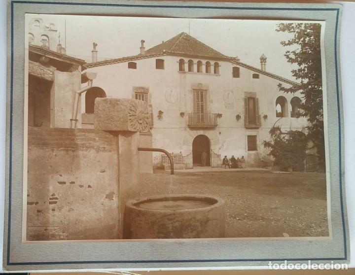 Fotografía antigua: 1912 Arxiu Mas La Colònia Güell: Can Soler de la Torre St. Boi Sant feliu del Llobregat 16,5 x 22,5 - Foto 2 - 140747626