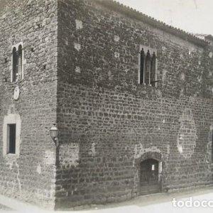 1918 Arxiu Mas. Castell de Guillem de Rupià. Girona 15,5 x 22,5