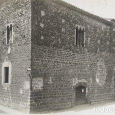 Fotografía antigua: 1918 ARXIU MAS. CASTELL DE GUILLEM DE RUPIÀ. GIRONA 15,5 X 22,5. Lote 140748126