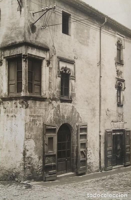 1918 CAL NOI SEGLE XVI ARXIU MAS ANGLÈS LA SELVA SANTA COLOMA DE FARNÉS GIRONA 15 X 22 (Fotografía Antigua - Fotomecánica)