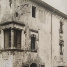 Fotografía antigua: 1918 CAL NOI SEGLE XVI ARXIU MAS ANGLÈS LA SELVA SANTA COLOMA DE FARNÉS GIRONA 15 X 22. Lote 140748602
