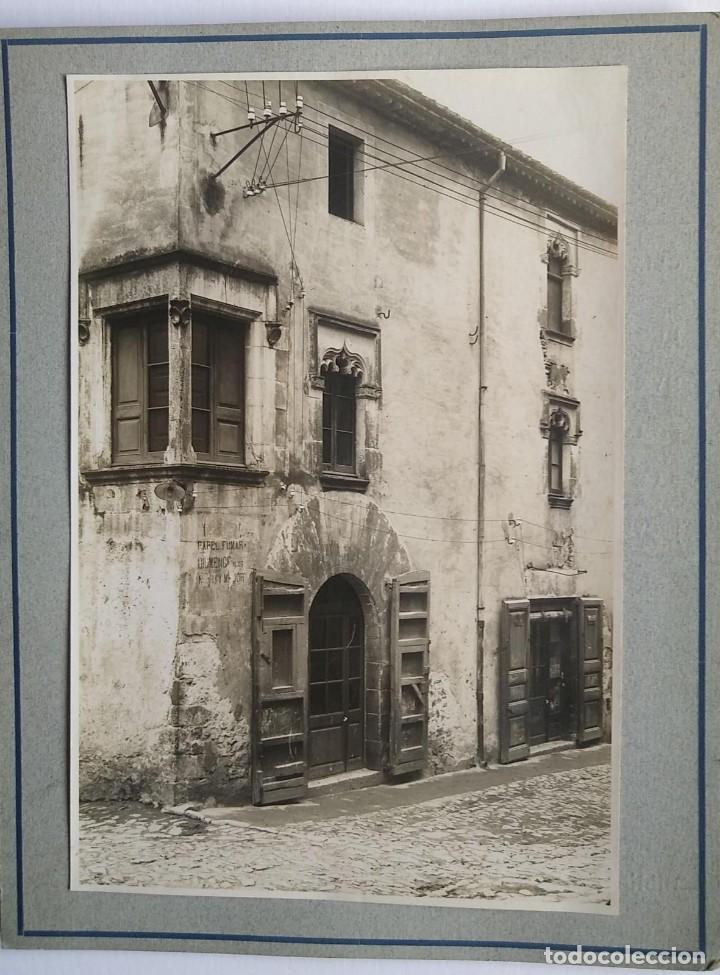 Fotografía antigua: 1918 Cal noi Segle XVI Arxiu Mas Anglès La Selva Santa Coloma de Farnés Girona 15 x 22 - Foto 2 - 140748602