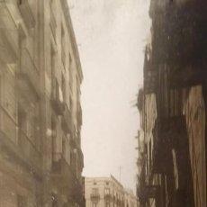 Fotografía antigua: 1908 ARXIU MAS CARRER BORIS I PLAÇA DE L'ÀNGEL 12,5 X 22. Lote 140749258