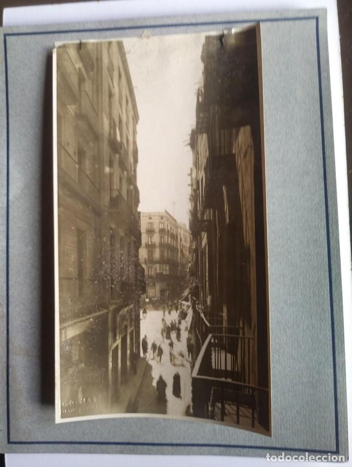 1908 Arxiu Mas Carrer Boris i Plaça de l'àngel 12,5 x 22