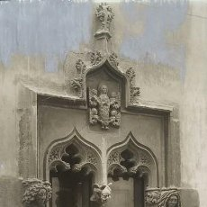 Fotografía antigua: 1918 ARXIU MAS MATARO CASA PARTICULAR FINESTRA 13 X 22,5. Lote 140750178