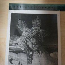 Fotografía antigua: MAGNIFICA FOTOGRAFIA DEL STMO. CRISTO DE LA VERA CRUZ, SEMANA SANTA DE ARCOS DE LA FRONTERA CADIZ. Lote 151883362