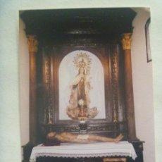 Fotografía antigua: FOTO DE LA VIRGEN DEL CARMEN Y CRISTO YACENTE . PARROQUIA DE LA ASUNCION . SEVILLA. Lote 151895434