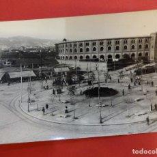 Fotografía antigua: PLAZA ESPAÑA. BARCELONA. HACIA 1910. FOTO TAMAÑO POSTAL ARCHIVO BRANGULÍ. Lote 152009602