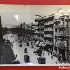 Fotografía antigua: PLUERTA DEL ANGEL. BARCELONA. 1904. FOTO 16 X 11 CTMS. COPIA AÑO 1962. SELLO CASA DEL ARCEDIANO. Lote 152010042
