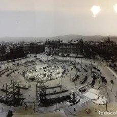 Fotografía antigua: PLAZA DE CATALUÑA. FOTO 24 X 18 CTMS. COPIA AÑOS 60S. ARCHIVO CASA DEL ARCEDIANO. BARCELONA. Lote 152011102