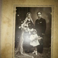 Fotografía antigua: FOTO DE FAMILIA AÑO 1934. Lote 152226262