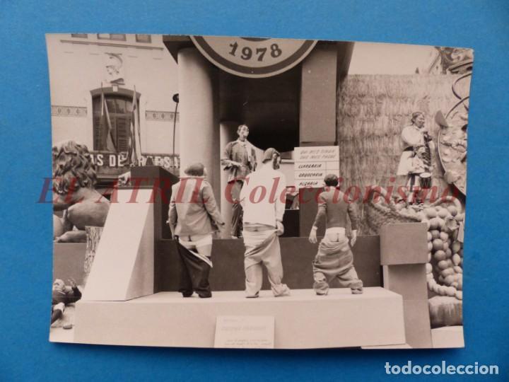 VALENCIA - FALLAS - FOTOGRAFICA - AÑOS 1970 (Fotografía Antigua - Fotomecánica)
