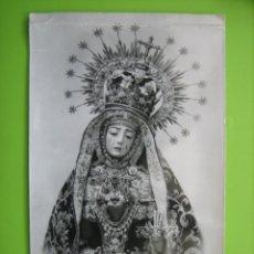 Fotografía antigua: FOTO ESTAMPA VIRGEN DE LOS DOLORES. CORDOBA. M 14X9 CM. Lote 152289874