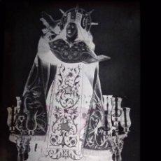Fotografía antigua: ALBA DE TORMES SALAMANCA ANTIGUO CLICHÉ DE SANTA TERESA NEGATIVO EN CRISTAL. Lote 152426690
