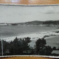 Fotografía antigua: CANGAS DE MORRAZO PONTEVEDRA GALICIA PLAYA DE LA RODEIRA.. Lote 152445246