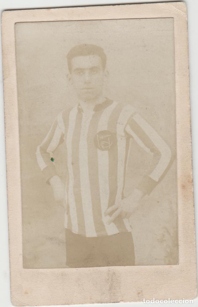 FOTOGRAFIA FUTBOL ORIGINAL CLUB MARINO DE LAS PALMAS DE GRAN CANARIA FUTBOL AÑO 1916 AROCEMENA CREO (Fotografía Antigua - Fotomecánica)