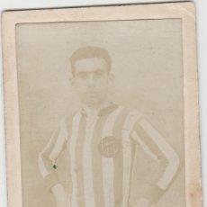 Fotografía antigua: FOTOGRAFIA FUTBOL ORIGINAL CLUB MARINO DE LAS PALMAS DE GRAN CANARIA FUTBOL AÑO 1916 AROCEMENA CREO. Lote 152541674
